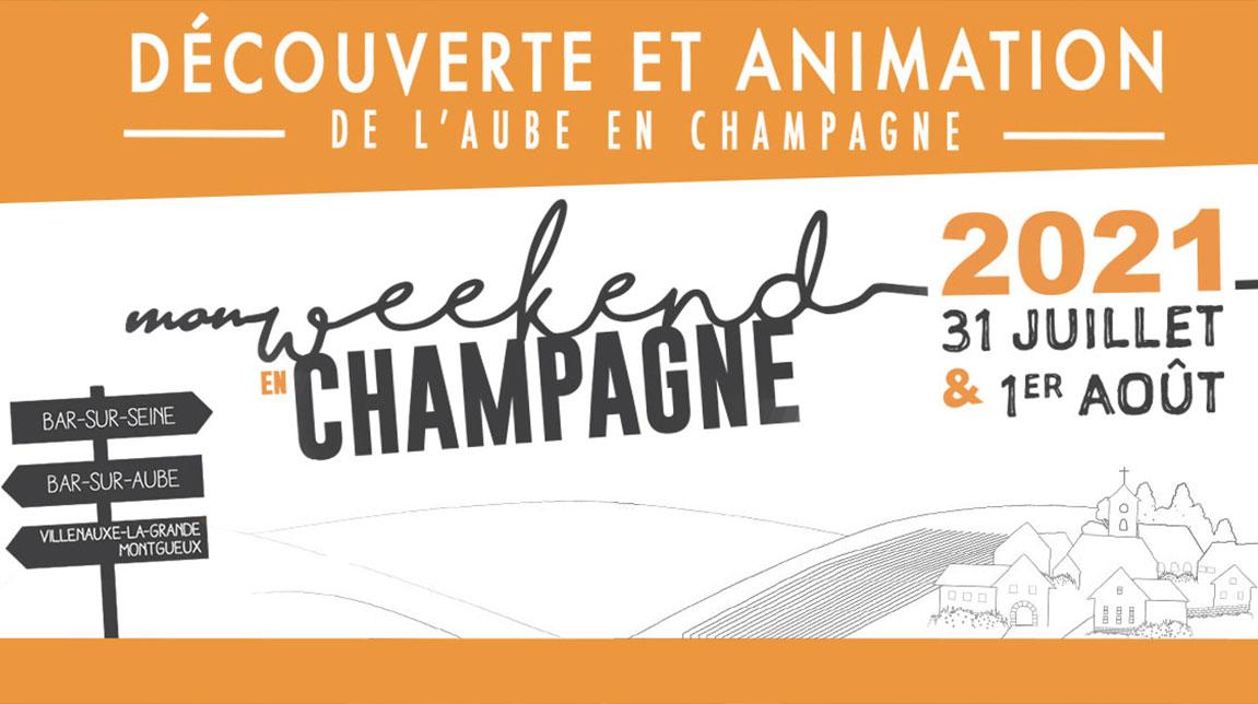 Mon Weekend en Champagne 2021